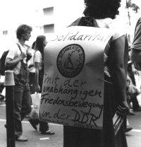 Demonstration gegen NATO-Nachrüstung - Bonner Hofgarten 1982
