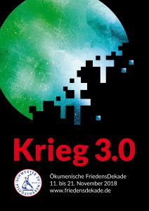 ÖkumenischeFriedensdekade_PlakatKrieg3.0_MichaelaGruchot_1